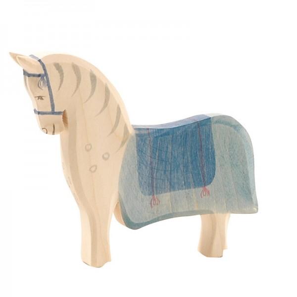 Ostheimer Pferd mit Sattel 41914