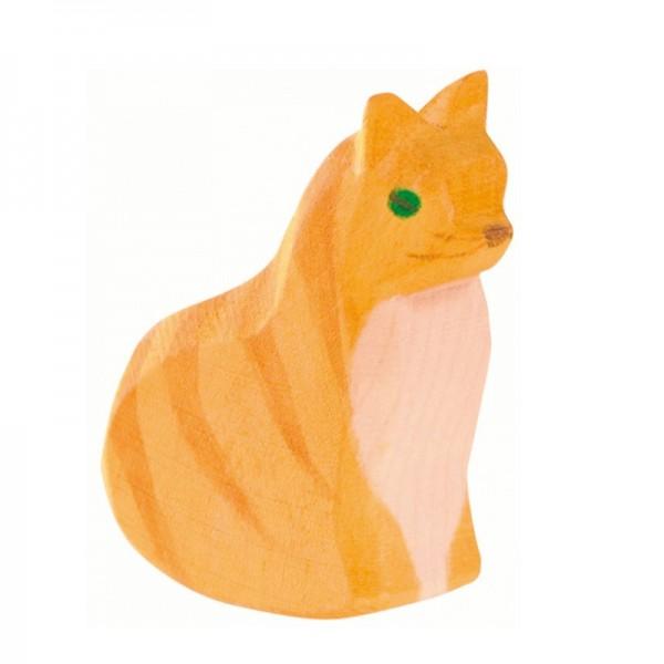 Ostheimer Katze sitzend 11401
