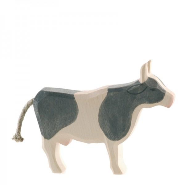 Ostheimer Kuh schwarz stehend 11042