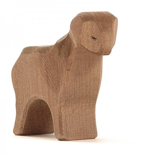 Ostheimer Schaf braun stehend 11652