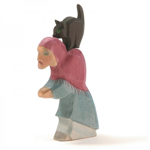 Ostheimer Hexe mit Katze 25100