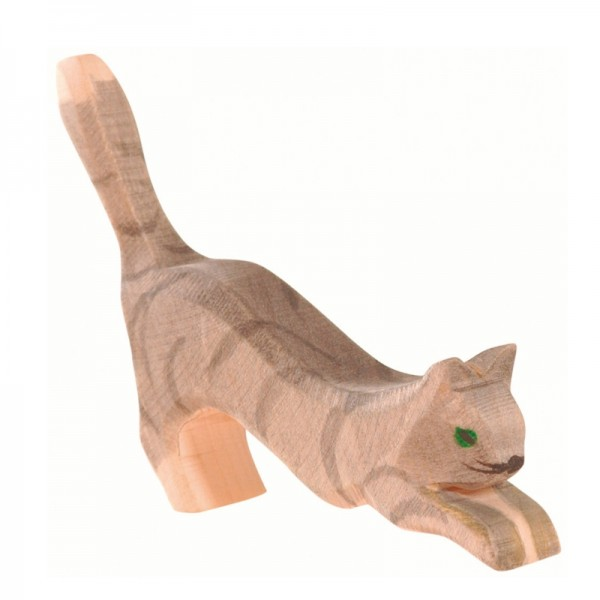 Ostheimer Katze springend 11402