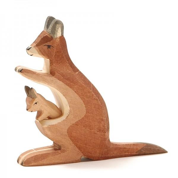 Ostheimer Känguru mit Kind 2062